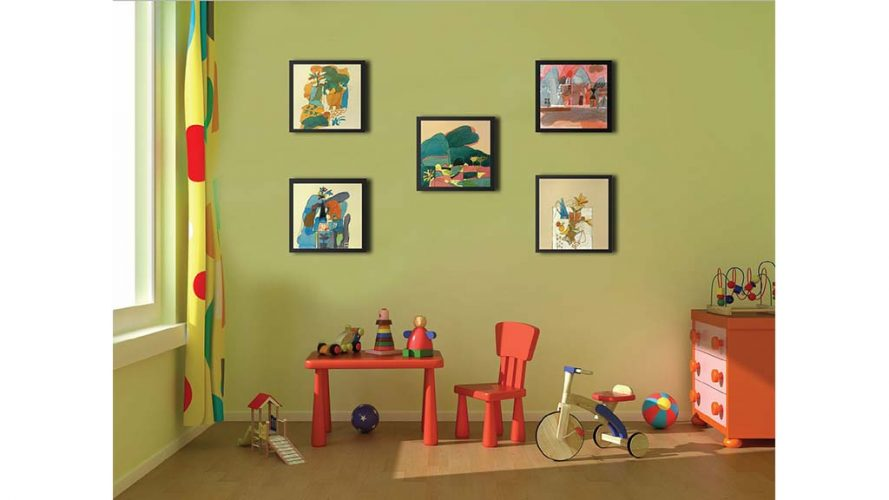11 - On Wall 1 - Vinod Shah - DRS Arts Company
