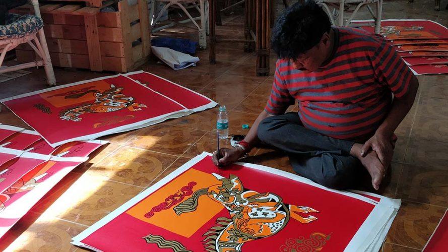 2-Signing Serigraph-Ravindra Salve-DRS Company