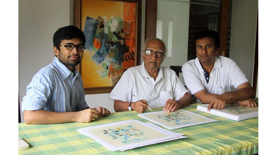 5 - With Directors - Vinod Shah - DRS Arts Company