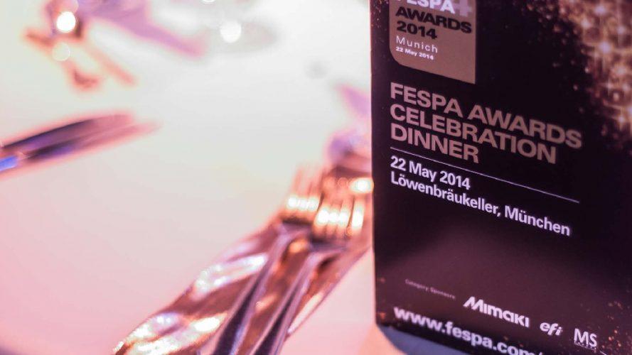 1. Fespa Awards 2014 - DRS Arts Company
