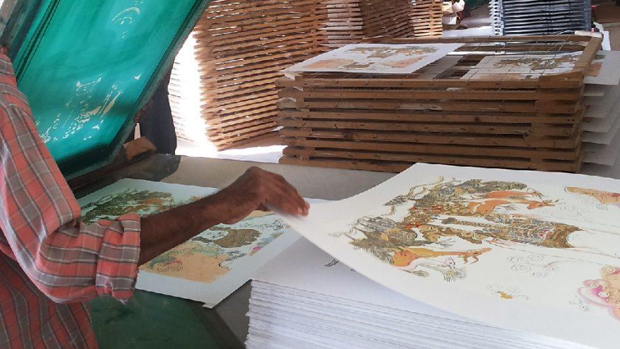 DRS Art Company - Serigraph Process - 20131207_155638