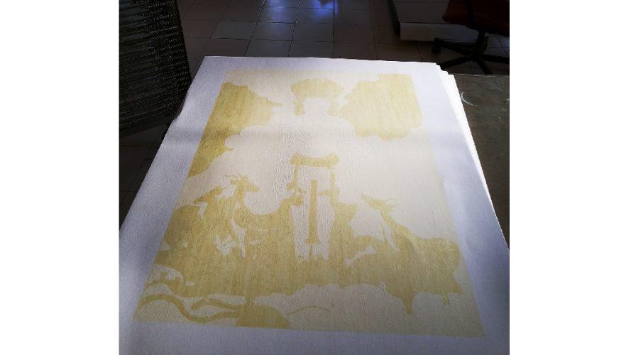DRS Arts Company - Serigraph Process - 20131122_165646