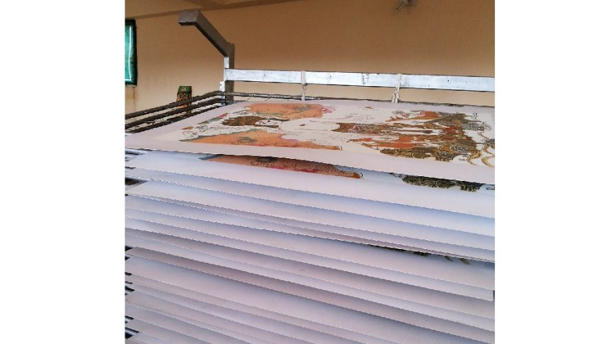 DRS Arts Company - Serigraph Process - 20131207_155411
