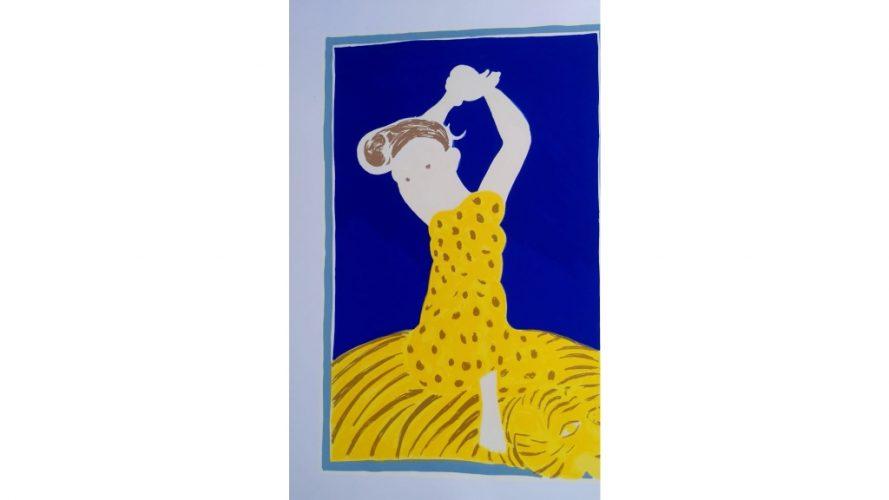 692 - Yogini ll - Gogi Saroj Pal - process image 4 - DRS Arts Company (1)