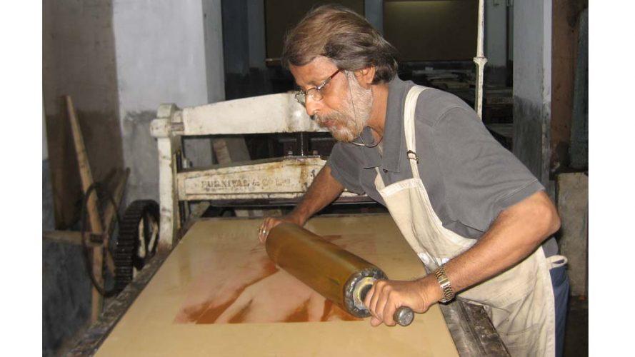 04 - Ajit Seal - Process image - DRS Arts Company
