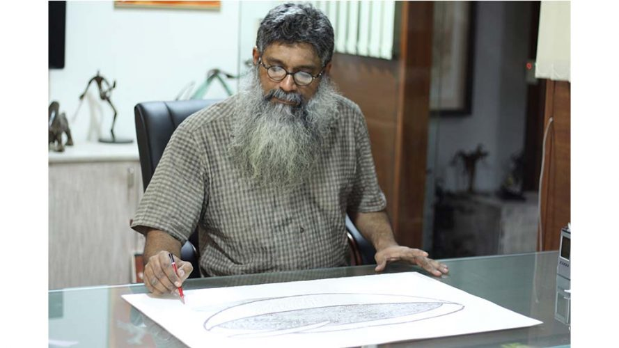 2 - Walter D'souza - Artist signing - DRS Arts Company