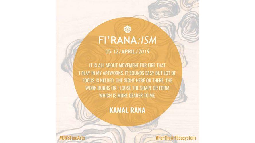 Artist's view - Kamal Rana Quote - DRS Arts Company