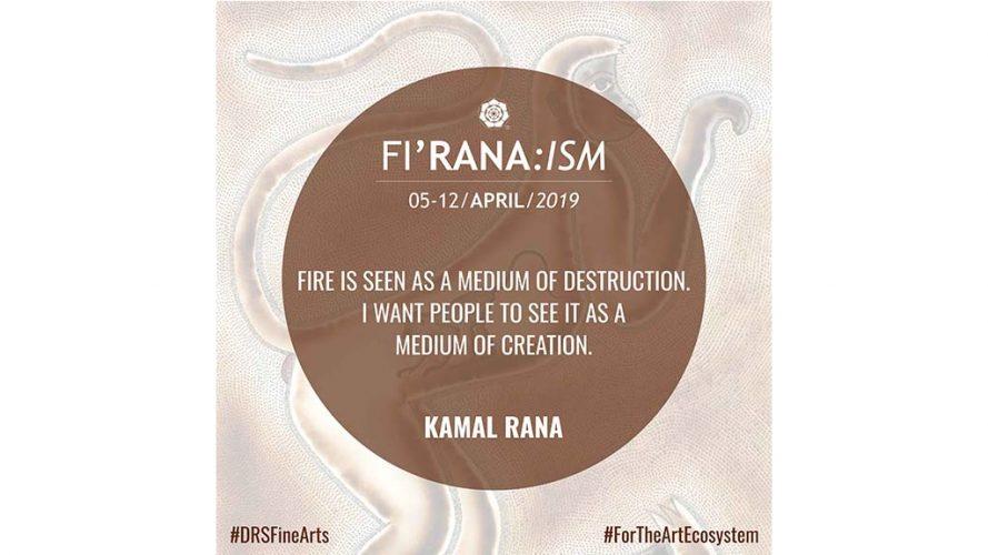 Artist's view - Kamal Rana Quote1 - DRS Arts Company