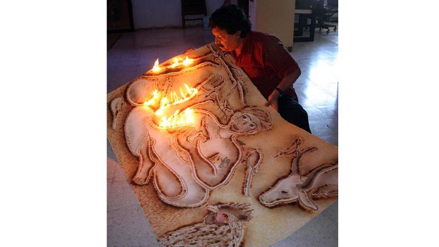 Kamal Rana - Process image - DRS Arts Company
