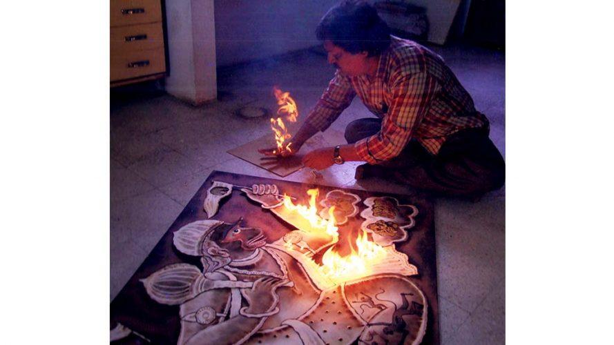 Kamal Rana - Process image1 - DRS Arts Company