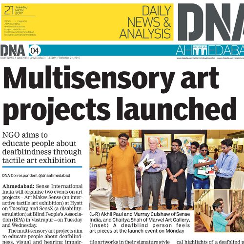 Multisensory Art Projects Launched