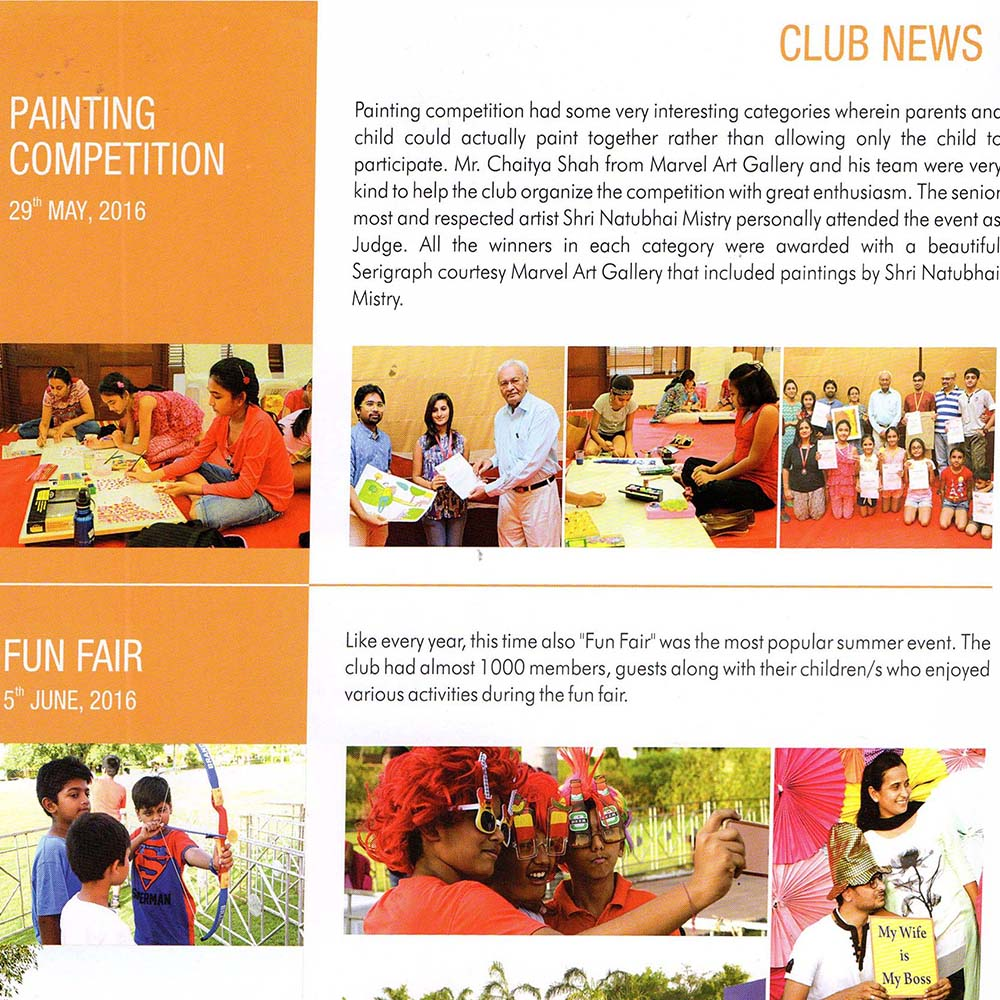 Club News – Painting Competition