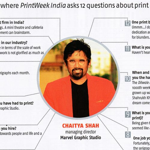 The Indian Print Industry Lacks Glamour