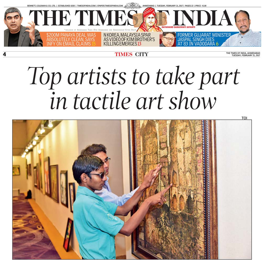 Top Artists to Take Part in Tactile Art Show
