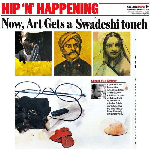 Now, Art Gets a Swadeshi touch