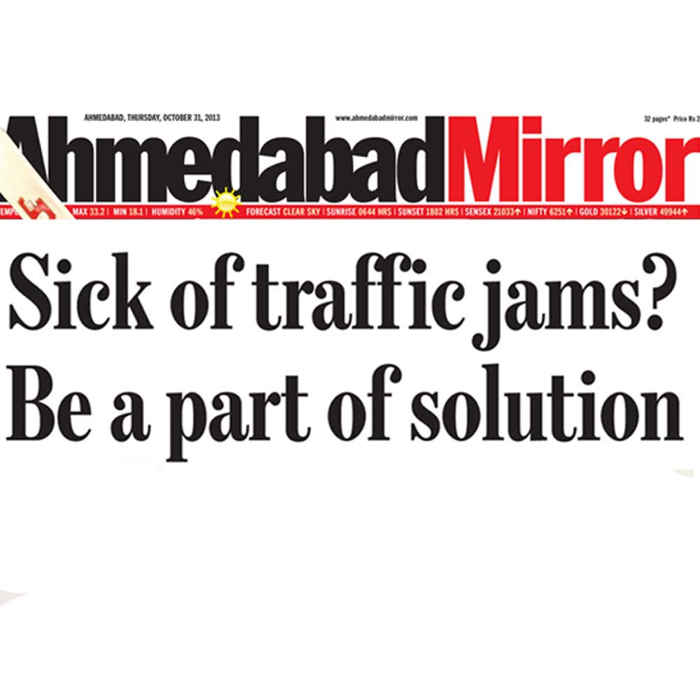 Sick of traffic jams? Be a part of solution