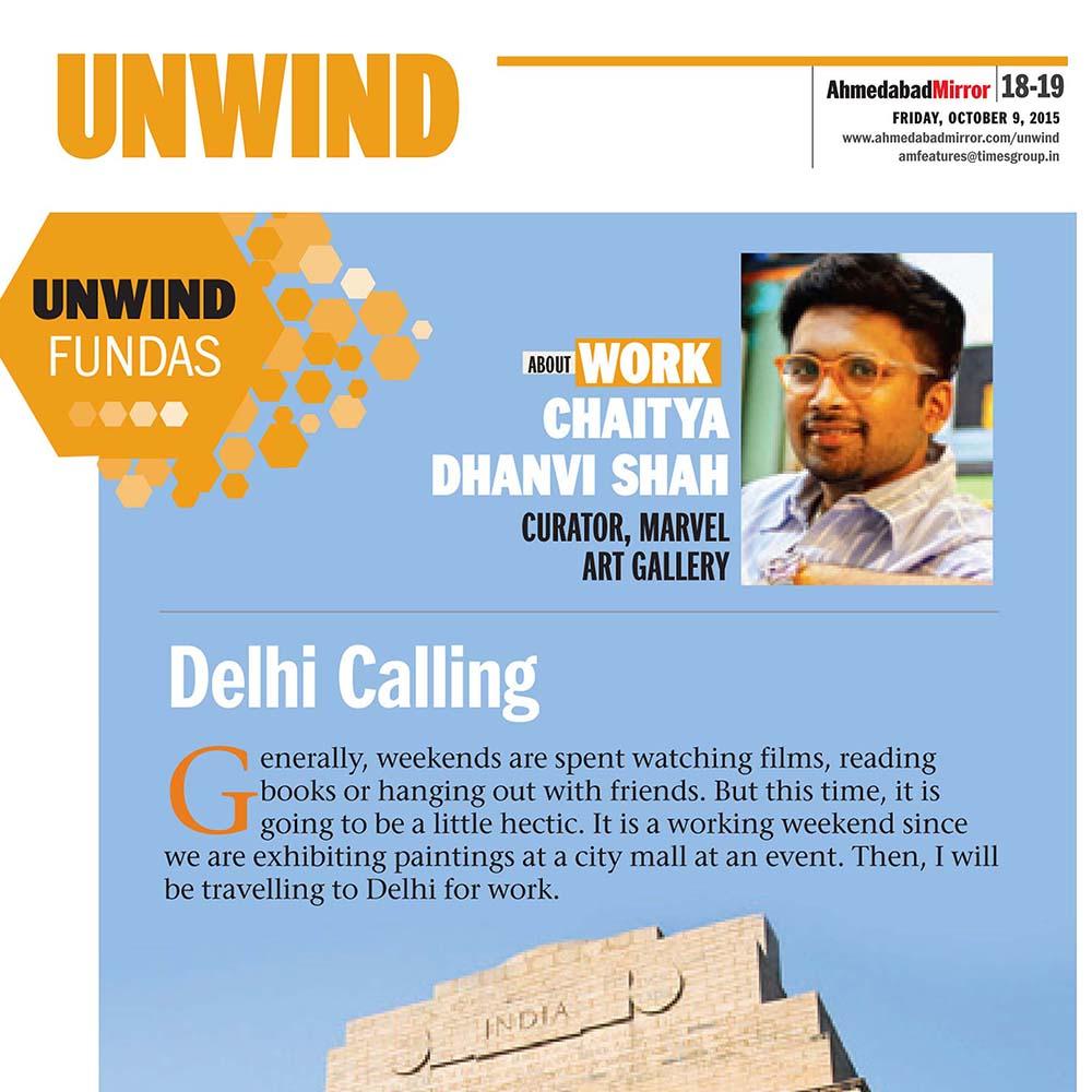 Unwind Fundas – Delhi Calling