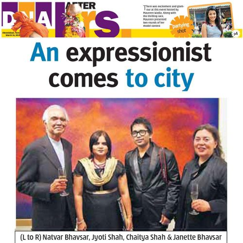 An expressionist comes to city