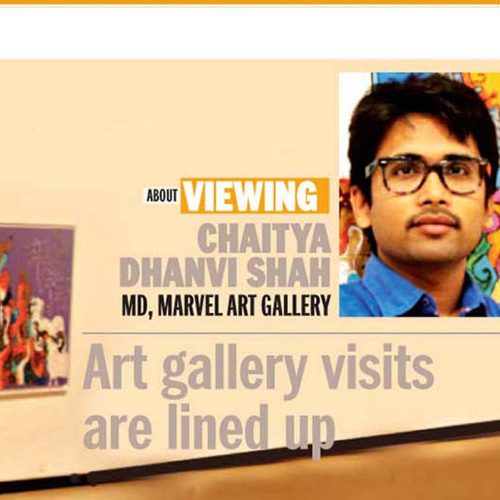 Art Gallery visits are lined up