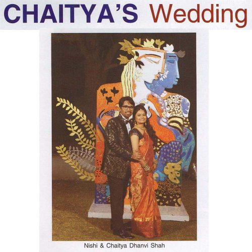 Chaitya's wedding