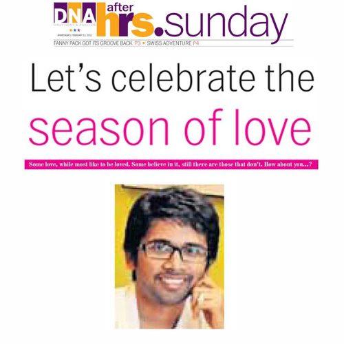 Let's celebrate the season of love