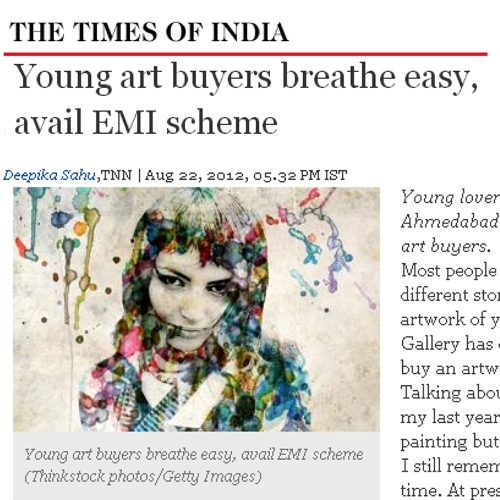 Young art buyers breathe easy, avail EMI scheme