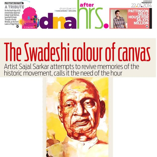 The Swadeshi colour of canvas
