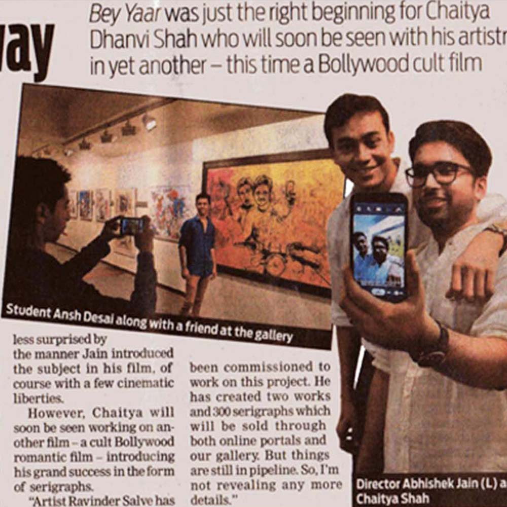Promoting art the filmy way