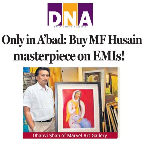 Only in A'bad : Buy M.F.Husain masterpiece on EMIs!