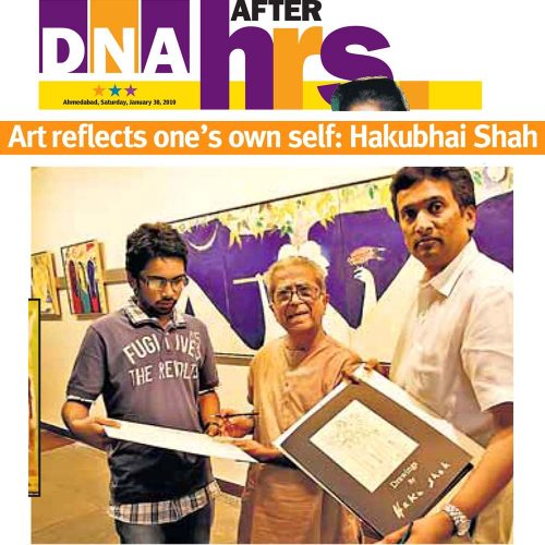 Art reflects one's own self: Hakubhai Shah