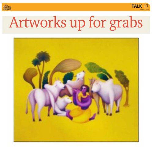 Artworks up for grabs