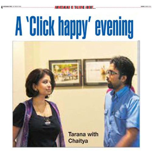 "A ""click happy"" evening"