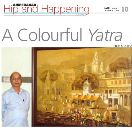 A colourful yatra