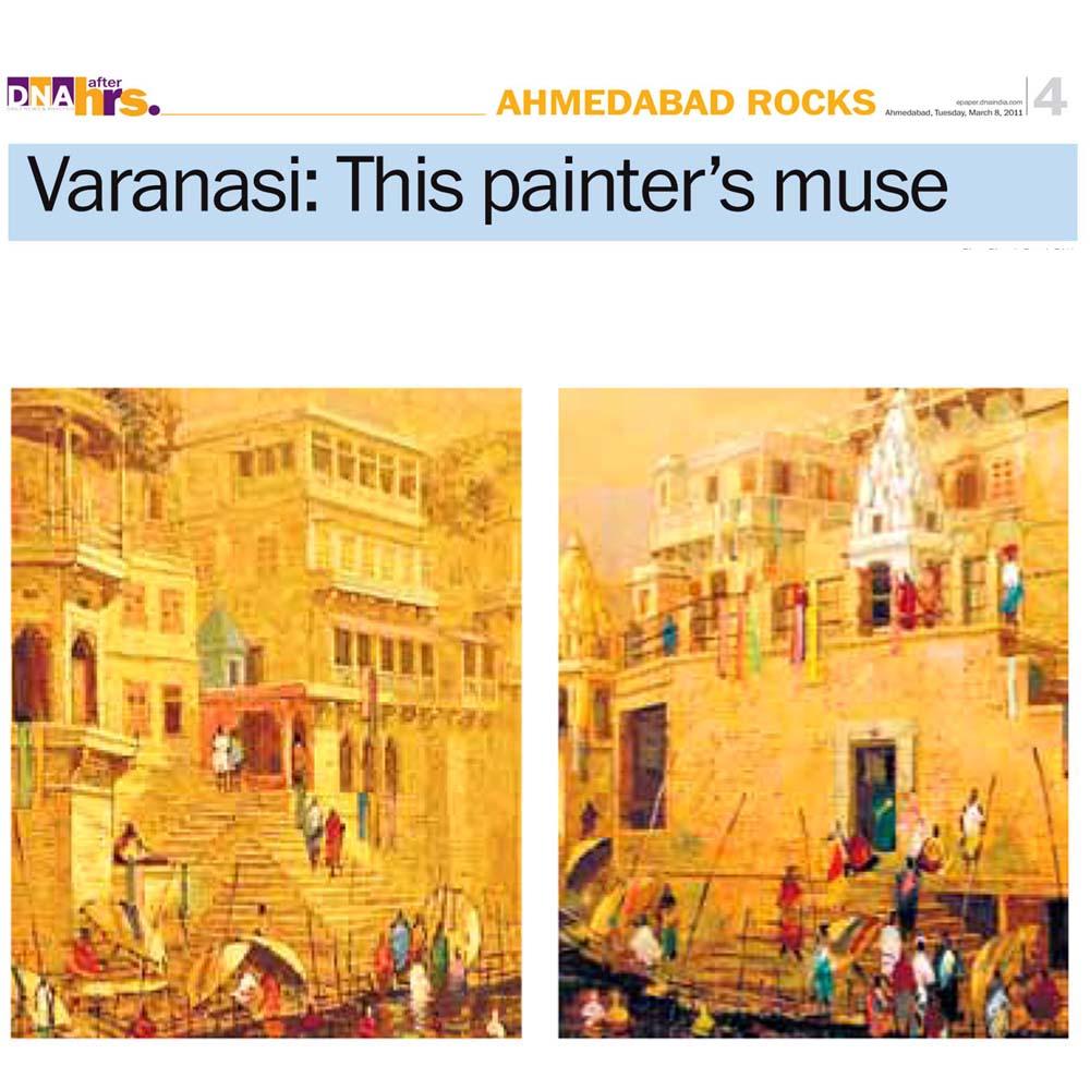 Varanasi – This painter's muse