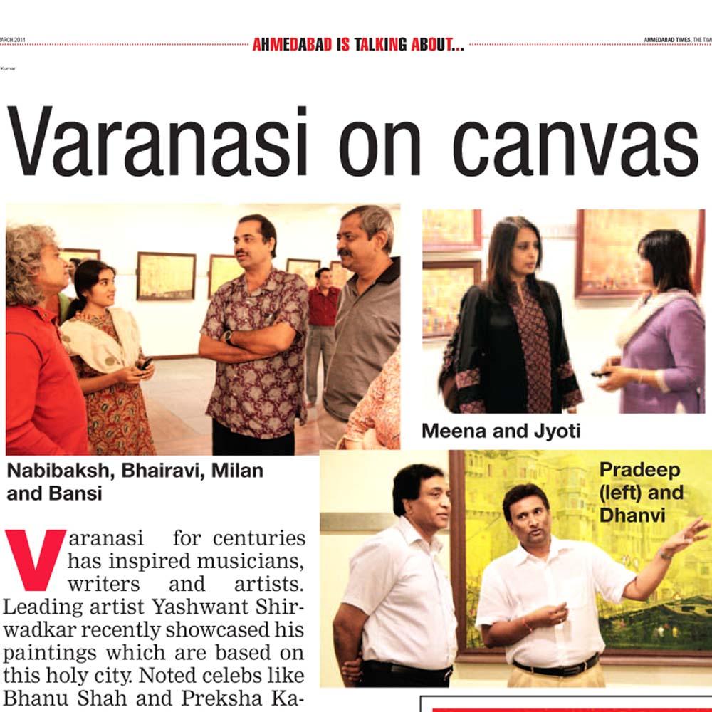 Varanasi on canvas
