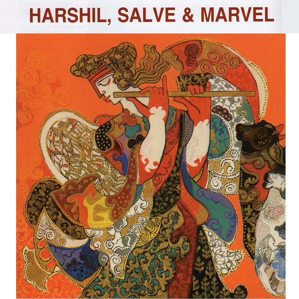 Harshil, Salve and Marvel