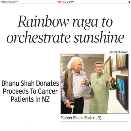 Rainbow raga to orchestrate sunshine