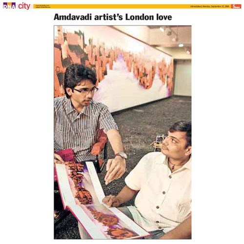 Amdavadi artist's London love