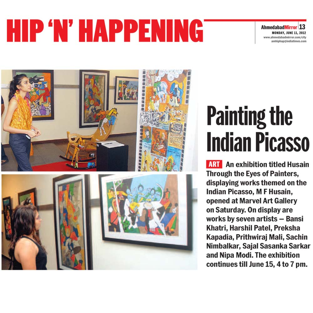 Painting the Indian Picasso