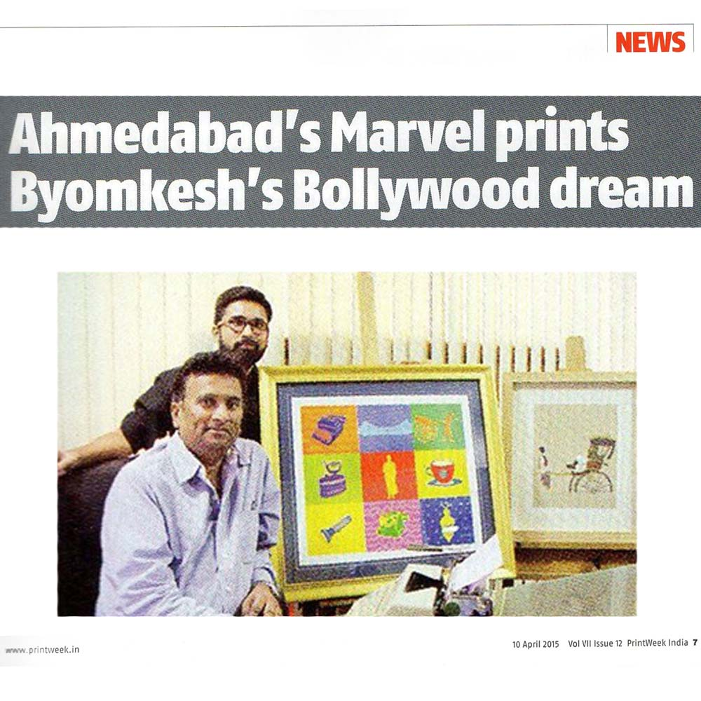 Ahmedabad's Marvel prints Byomkesh's Bollywood dream