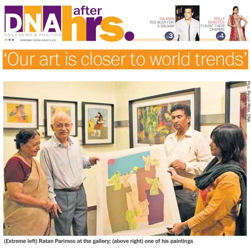 'Our art is closer to world trends'