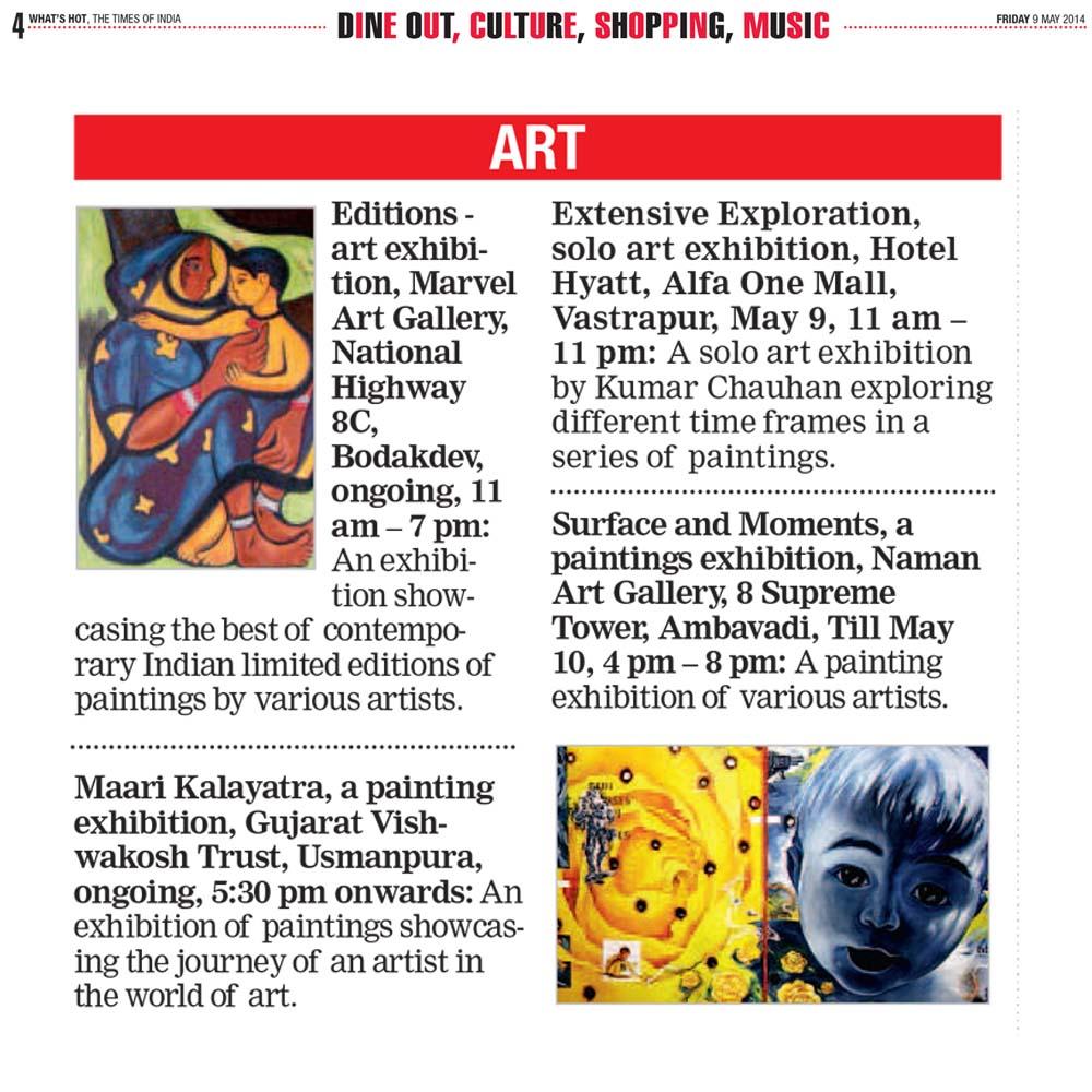 Editions art Exhibition at Marvel Art Gallery