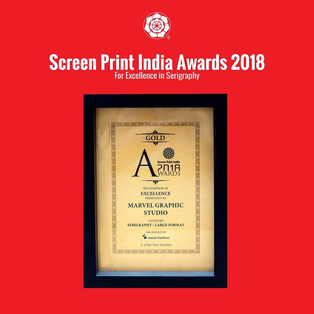 Screen Print India Awards 2018
