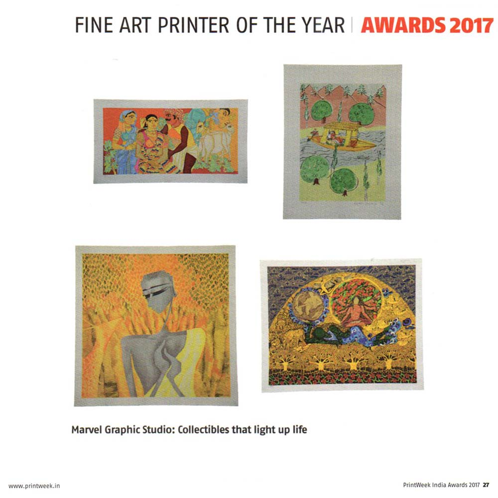 Fine Art Printer of the Year – Printweek Awards 2017