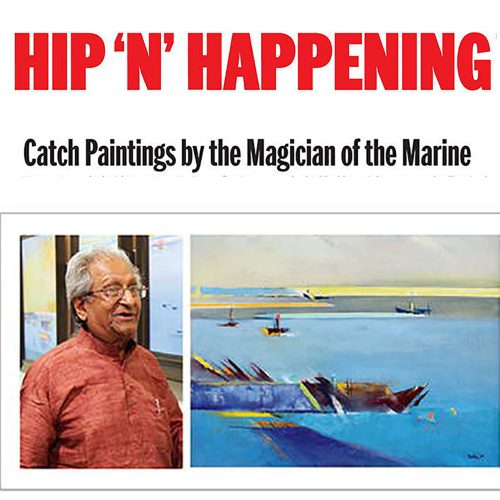 Catch Paintings by the Magician of the Marine